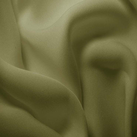 Silk Double Georgette Sage Green