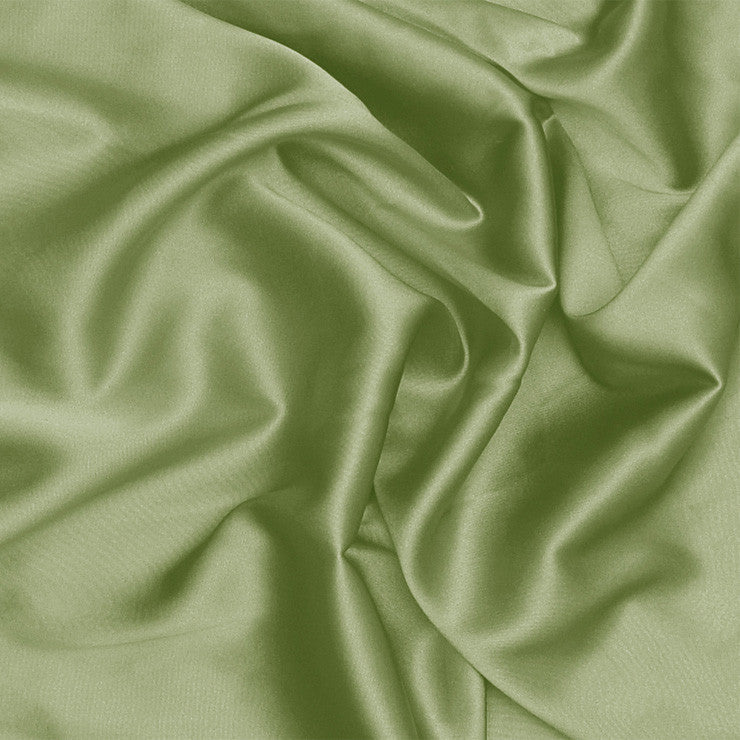 Silk Stretch Charmeuse Sage Green