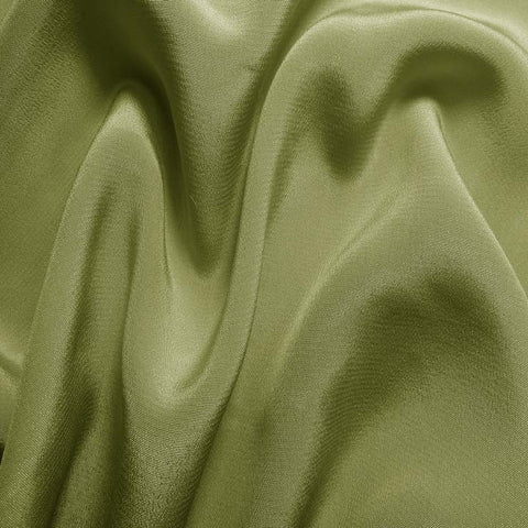 Silk Crepe de Chine Sage Green