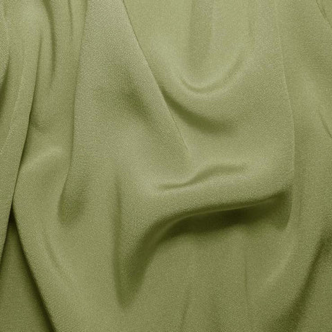 Silk Crepe Back Satin Sage Green