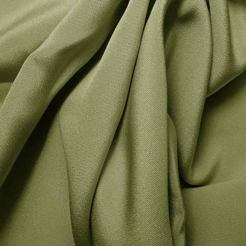 Silk 4 Ply Woven Crepe Sage Green