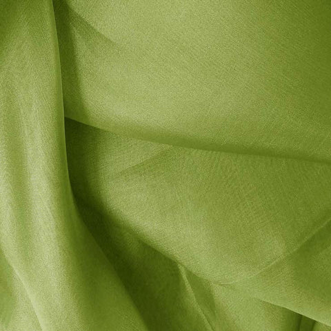 Silk Organza Fern Green