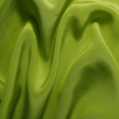 Silk Crepe de Chine Fern Green