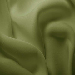 Silk Double Georgette Fern Green