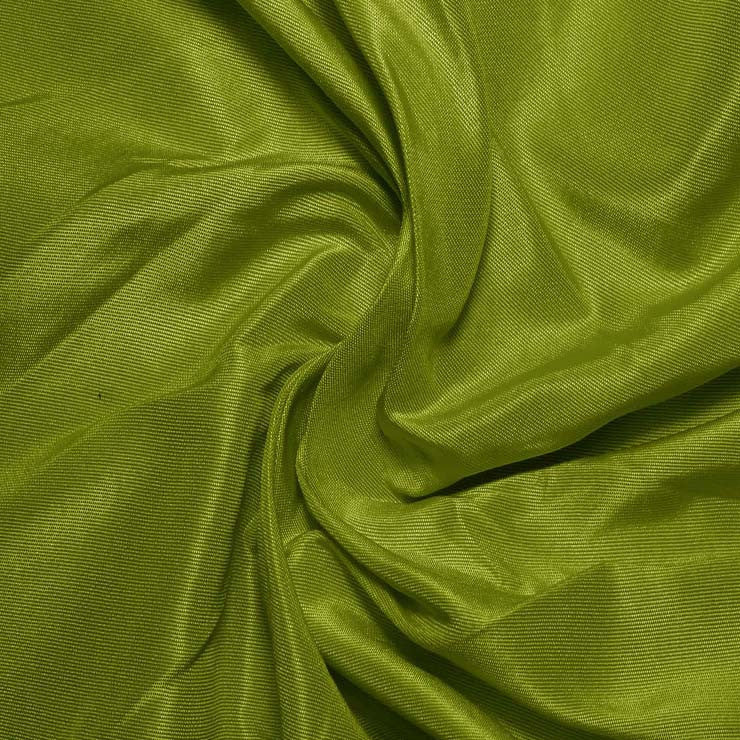 Silk Habotai Fern Green