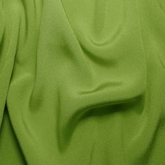 Silk Crepe Back Satin Fern Green