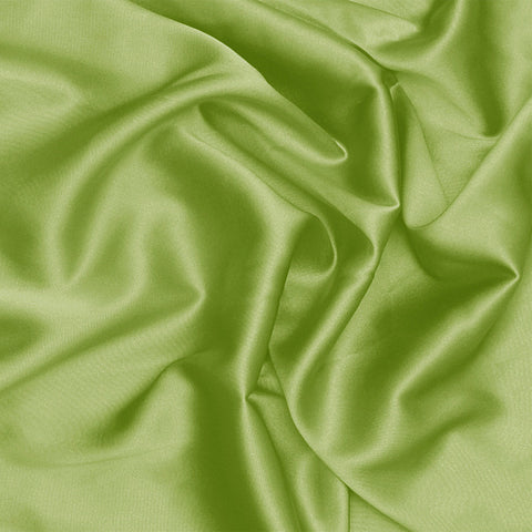 Silk Stretch Charmeuse Fern Green