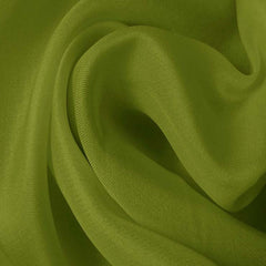 Silk Satin Face Organza Fern Green