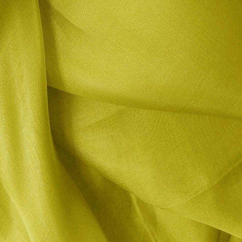 Silk Organza Pea Green