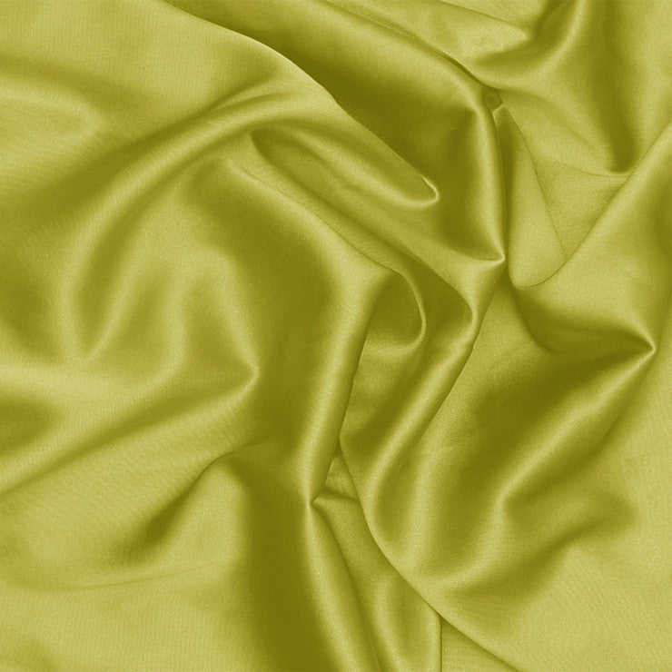 Silk Charmeuse Pea Green