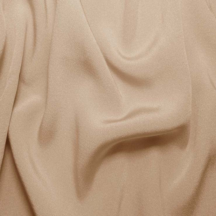 Silk Crepe Back Satin Buff Beige