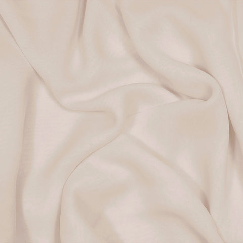 Silk Stretch Chiffon Buff Beige