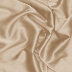 Silk Stretch Charmeuse Buff Beige