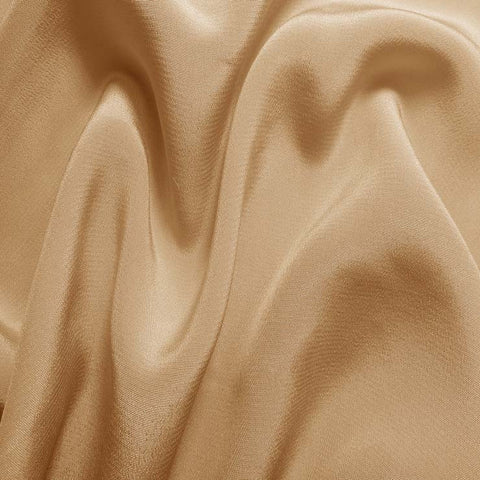 Silk Crepe de Chine Buff Beige