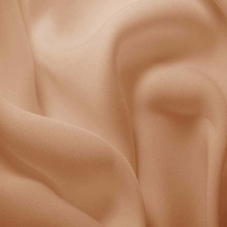 Silk Double Georgette Taupe