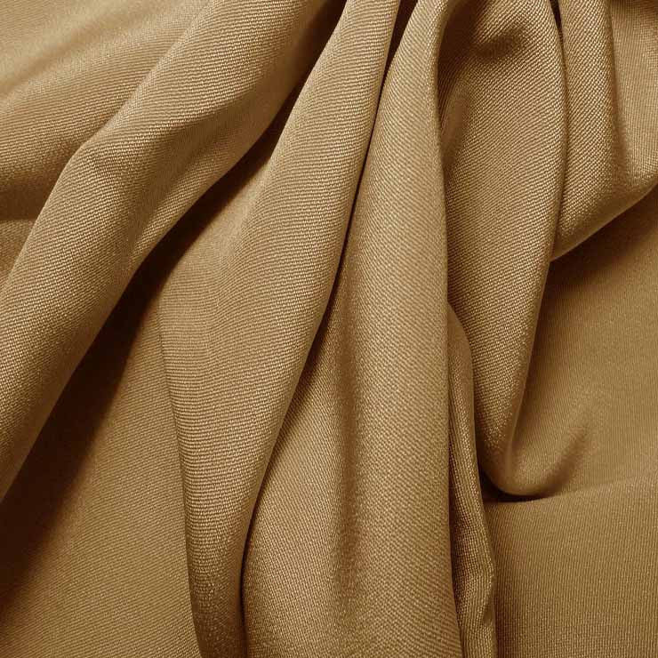 Silk 4 Ply Woven Crepe Taupe