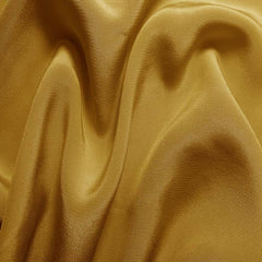 Silk Crepe de Chine Gold Tan