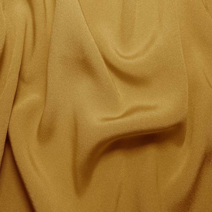 Silk Crepe Back Satin Gold Tan