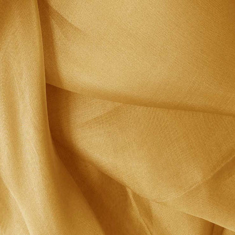 Silk Organza Gold Tan