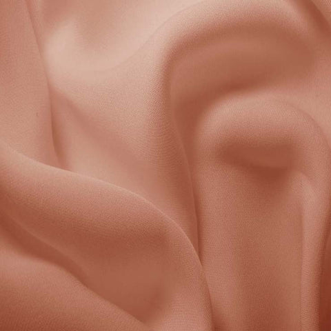 Silk Double Georgette Nude Rose
