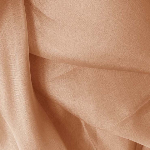Silk Organza Nude Rose