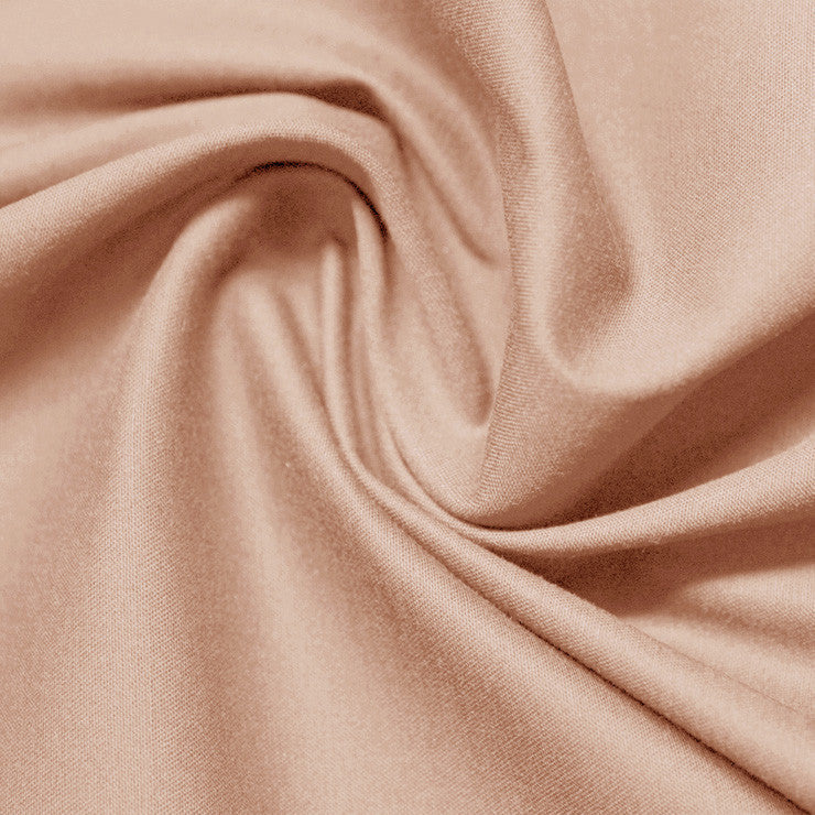 Cotton Stretch Sateen 239 Nude Rose - NY Fashion Center Fabrics