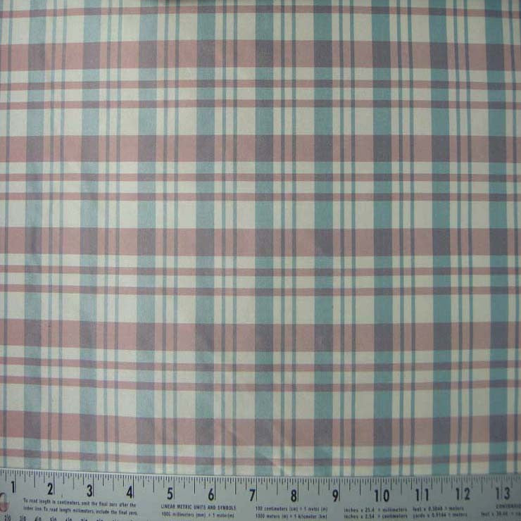 Silk Taffeta Stripes and Checks 24 5053 E