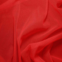 Nylon/Spandex Sheer Stretch Mesh 24 Crimson