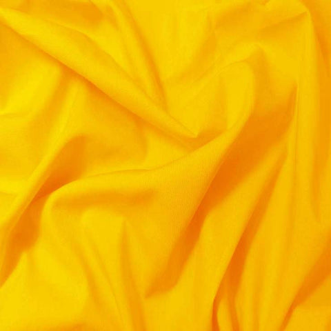 Pima Cotton Broadcloth - 30 Yard Bolt 24 Yellow