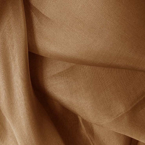 Silk Organza Light Brown