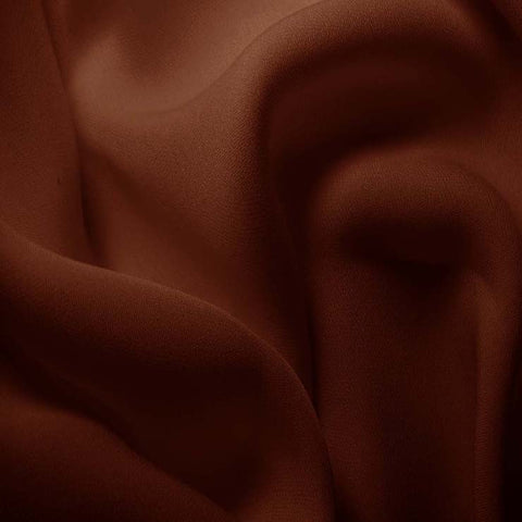 Silk Double Georgette Light Brown