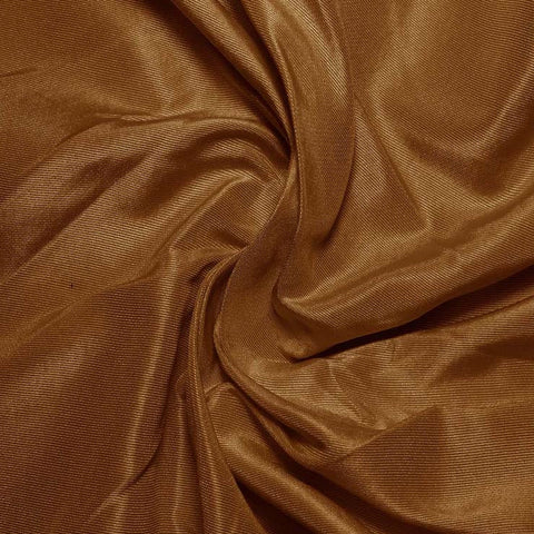 Silk Habotai Light Brown