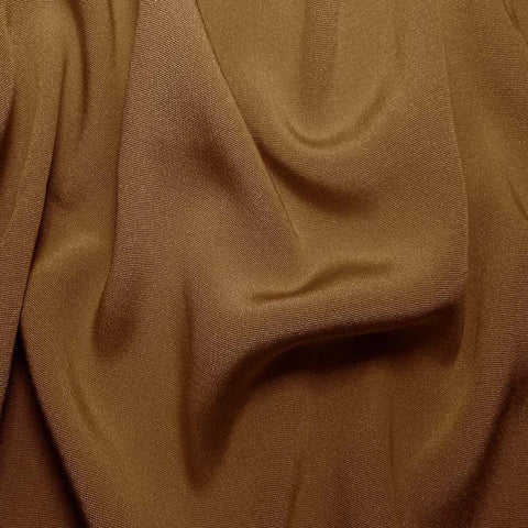 Silk Crepe Back Satin Light Brown
