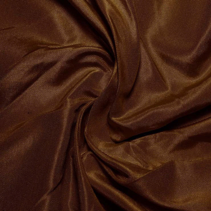 Silk Habotai Toffee Brown