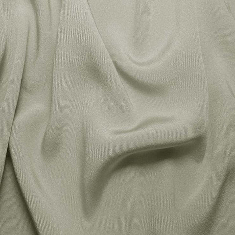 Silk Crepe Back Satin Overcast Gray