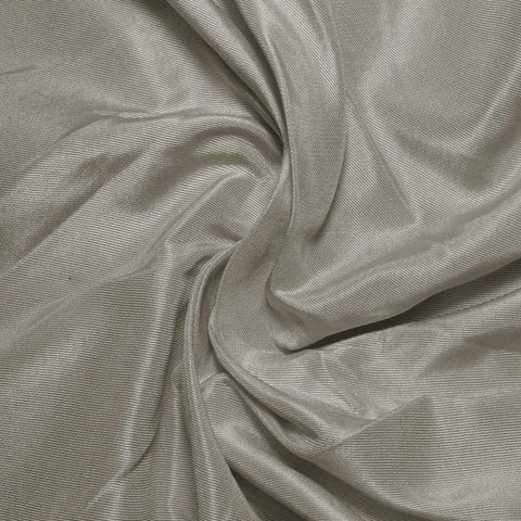Silk Habotai Light Gray