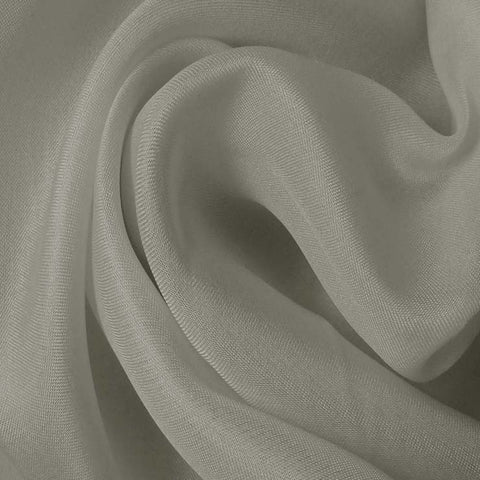 Silk Satin Face Organza Light Gray
