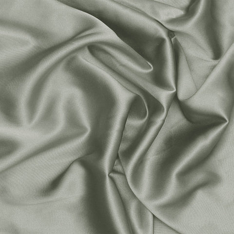 Silk Stretch Charmeuse Light Gray