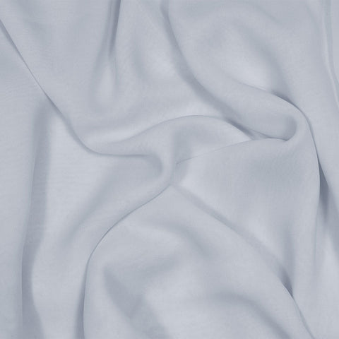 Silk Stretch Chiffon Dove Gray