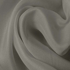 Silk Satin Face Organza Dove Gray