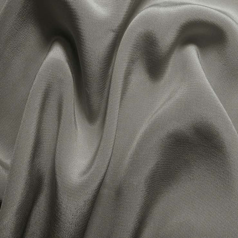 Silk Crepe de Chine Dove Gray