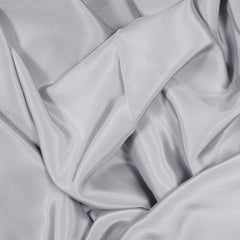 Silk Stretch Crepe De Chine Dove Gray