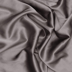 Silk Charmeuse Gunmetal Gray