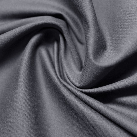 Cotton Stretch Sateen 246 Frost Gray - NY Fashion Center Fabrics