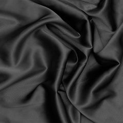 Silk Charmeuse Charcoal Gray
