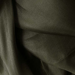 Silk Organza Charcoal Gray