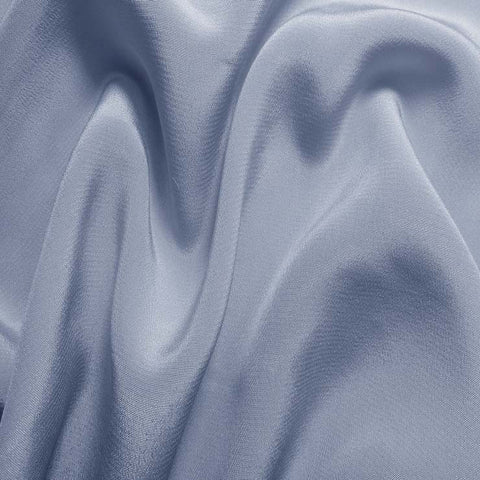 Silk Crepe de Chine Blue Dawn