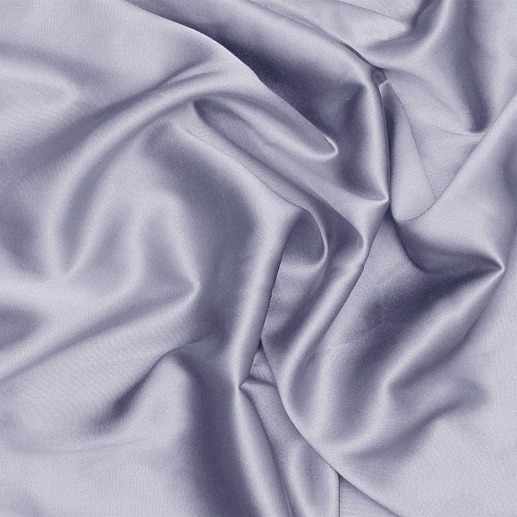 Silk Stretch Charmeuse Periwinkle