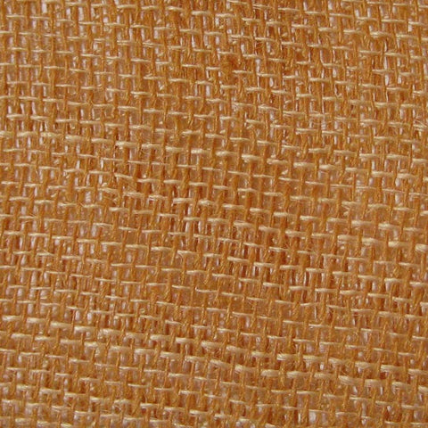 Open Weave Linen 25 Orange Wicker