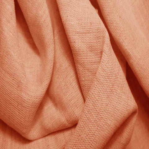 Medium Weight Linen - 6.5-oz 25 Peach - NY Fashion Center Fabrics